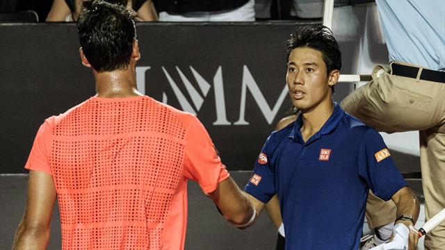 World number 5 Nishikori crashes out of Rio Open