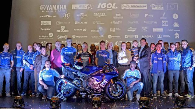 Yamaha Viltaïs Experiences monte en régime