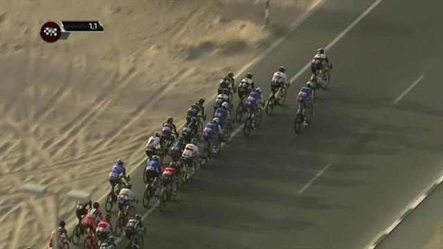 Abu Dhabi Tour: İlk etabın galibi Mark Cavendish