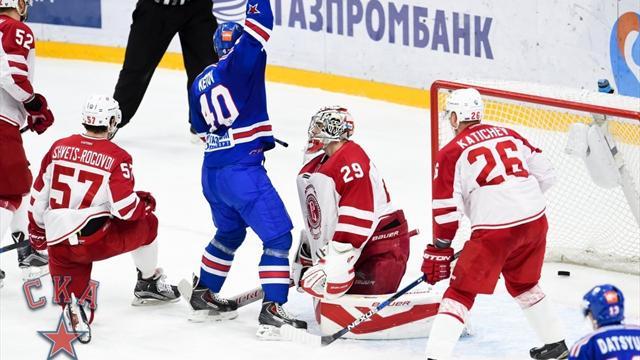 СКА и «Локомотив» забросили по 7 шайб «Витязю» и «Динамо» из Минска