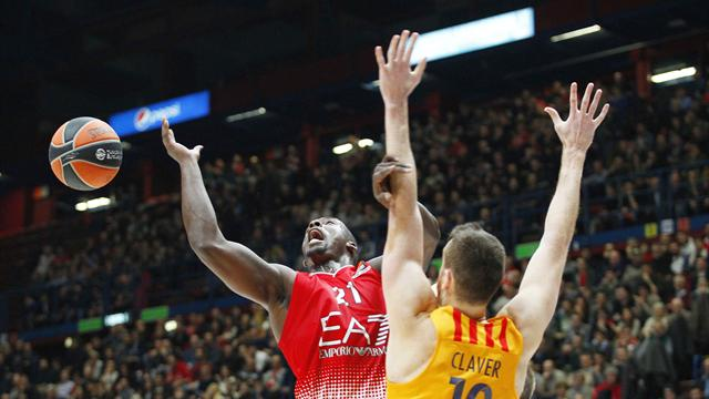 Olimpia a due facce: primo tempo super e secondo da dimenticare, il Barcellona passa al Forum