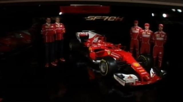 Formula 1: svelata la nuova Ferrari del Campionato 2017