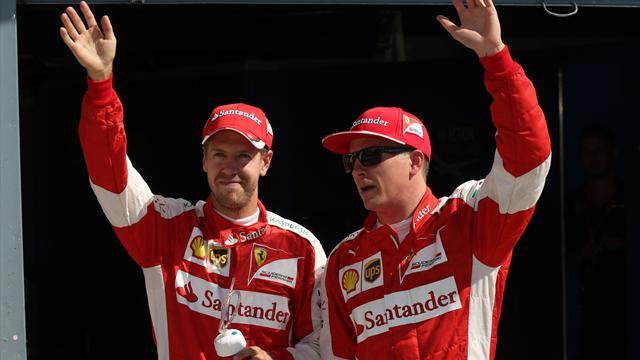 Rot ist die Hoffnung: Vettel und Ferrari jagen Mercedes
