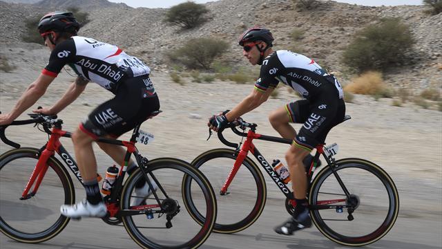 Rui Costa s'adjuge l'étape-reine — Tour d'Abu Dhabi
