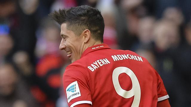 Apabullante victoria del Bayern al Hamburgo en el clásico del fútbol alemán (8-0)