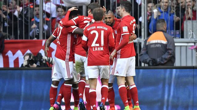 8-0 ! Le Bayern de Lewandowski et Coman a encore fait vivre un calvaire à Hambourg