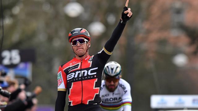 Van Avermaet a refait le même coup à Sagan !