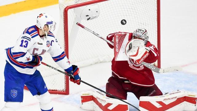 СКА повел в серии с «Витязем» 3-0, Дацюк набрал 4 очка