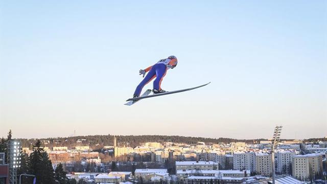 El austríaco Kraft logra su primer título mundial de saltos