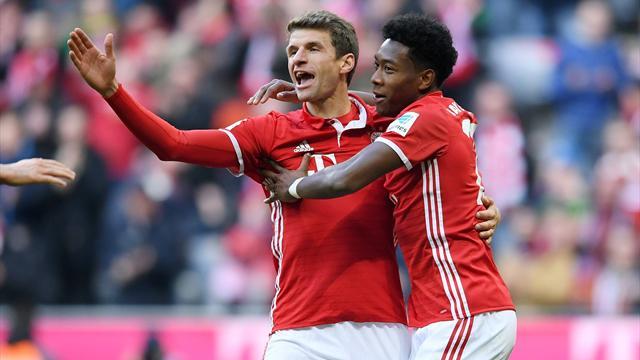 Aufstellungen: Müller beginnt gegen Gladbach