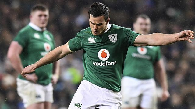 Sexton steers Ireland to victory against France