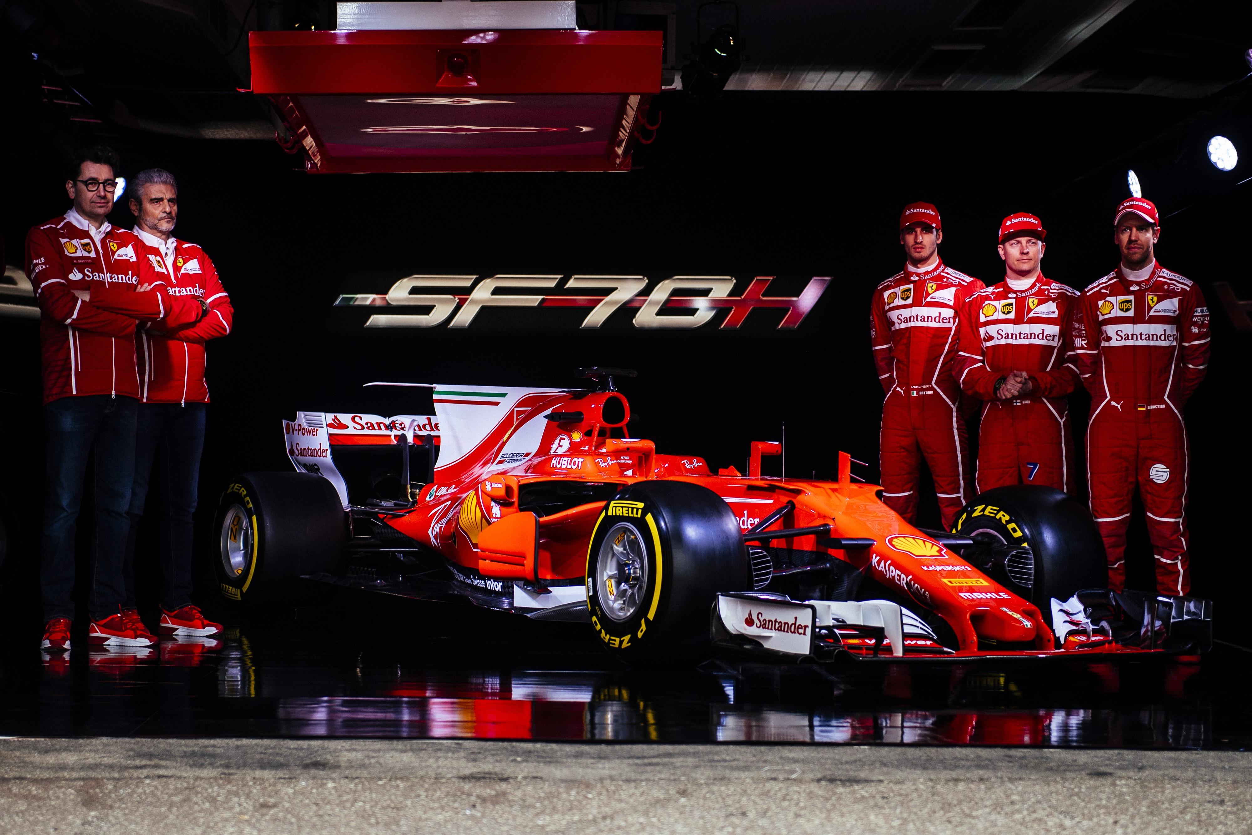 Ferrari Team - SF70H Skakedown - Fiorano - 2017