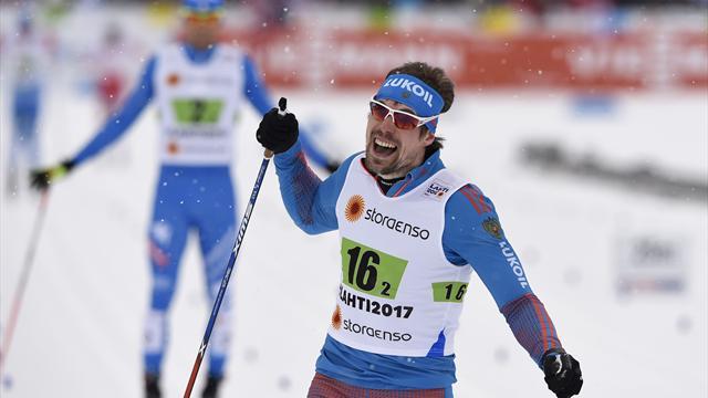 Sturz entscheidet Team-Sprint, Russland schnappt sich Gold