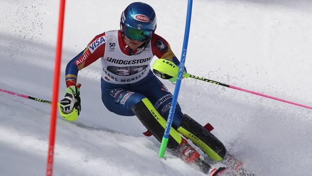 Vlhova führt in Aspen, Shiffrin knapp zurück