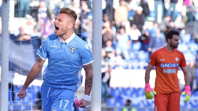 Lazio, prove tattiche in vista dell'Udinese