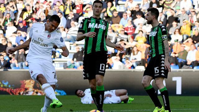 Grâce aux penalties, la Lazio et l'AC Milan s'accrochent