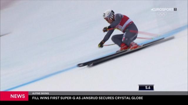 Ski alpin: Fill siegt beim Super-G in Kvitfjell