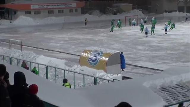 Смотрим, как начемпионате Российской Федерации хоккеисты забили 20 голов всвои ворота