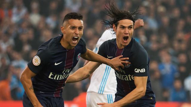 Olympique de Marsella-PSG: Los de Emery vuelven a recordar su mejor versión al Barça (1-5)