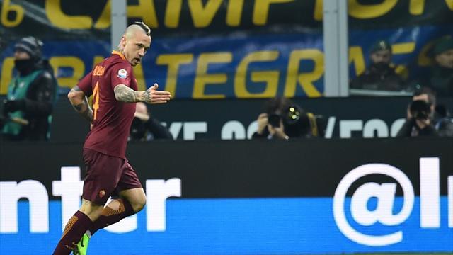 Deux lucarnes plus belles l'une que l'autre : Nainggolan a régalé face à l'Inter