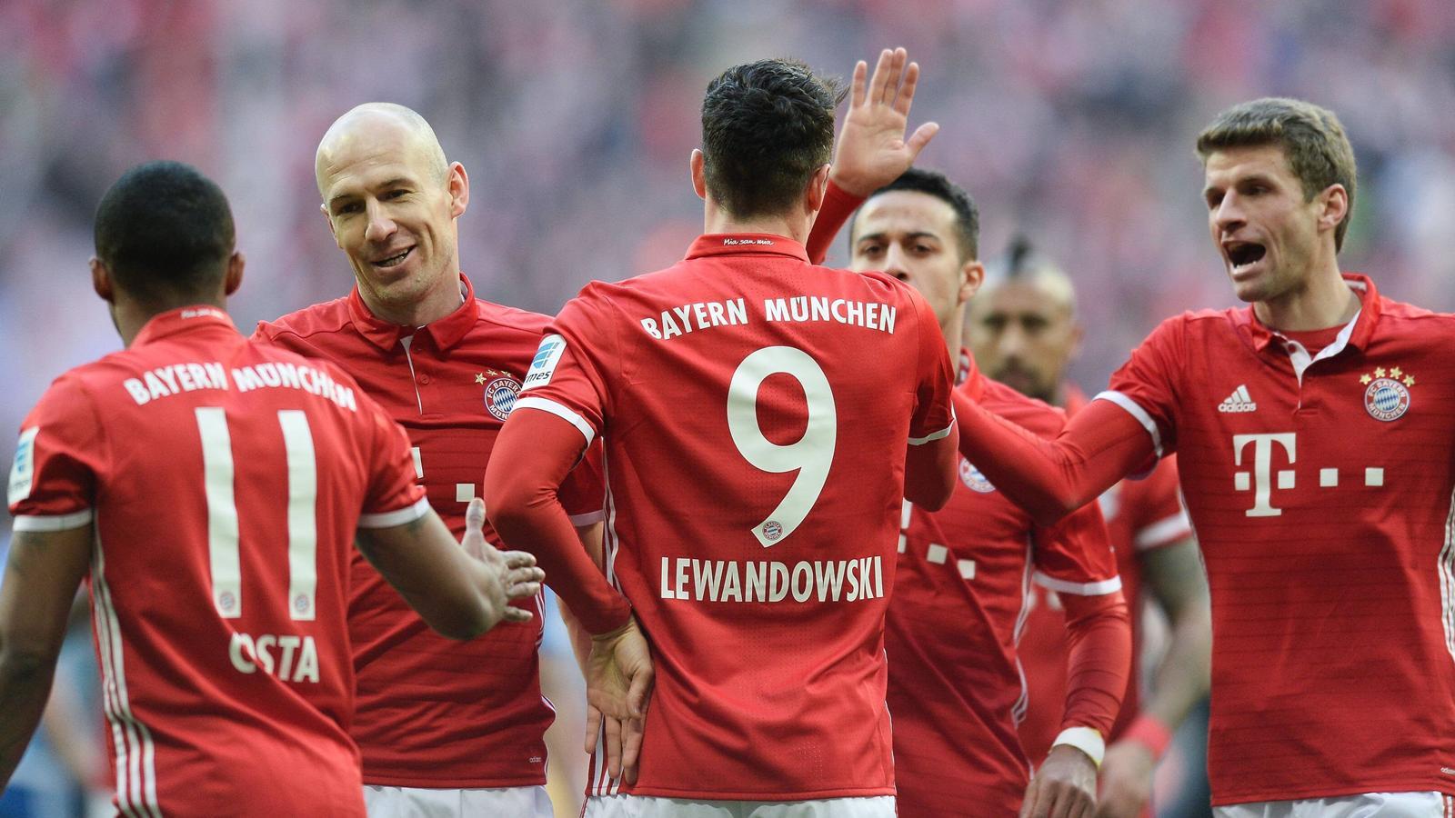 Spielstand Bayern Schalke