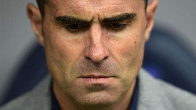 Struggling Deportivo sack coach Garitano after four straight defeats