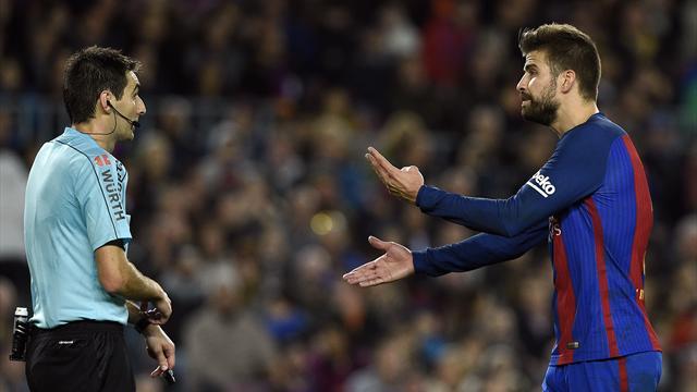Пике наехал на«Реал» из-за судейства, аРамос ответил, вспомнив Месси