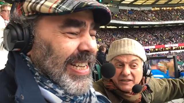 Una giornata a Twickenham con Raimondi e Munari: il backstage