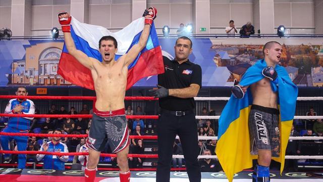 Российские бойцы выиграли общекомандный зачет юношеского чемпионата мира по ММА