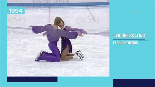 #Olympics: Die verrückten Modetrends im Eiskunstlauf