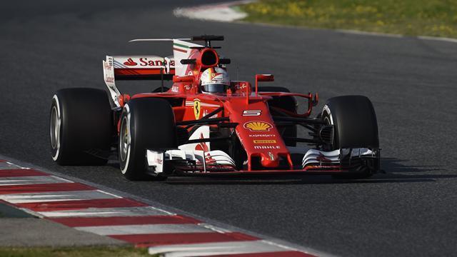 Ferrari, Vettel vola: