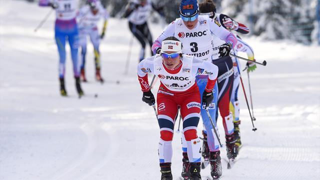 Марит Бьорген взяла золото в индивидуальной гонке классическим стилем