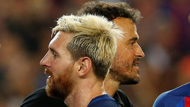 Luis Enrique : «Messi est le meilleur joueur du monde, il est normal de dépendre de lui»