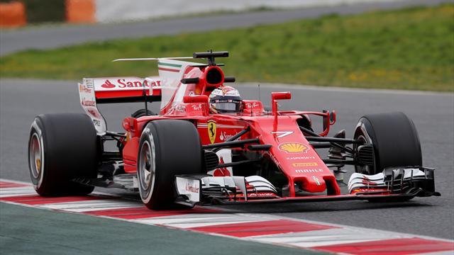 Exploit Ferrari nei test di Montmeló, record della pista per Raikkonen