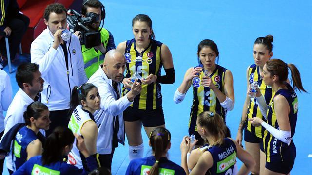 Fenerbahçe de yenilgi yüzü görmeden playoffta
