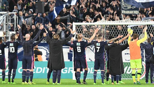Bordeaux renverse Lorient pour monter dans le quart