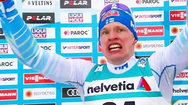 Nordische Ski-WM: Tränen bei Weltmeister Niskanen