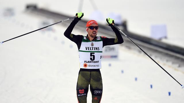 Rydzek takes third gold medal of World Championships