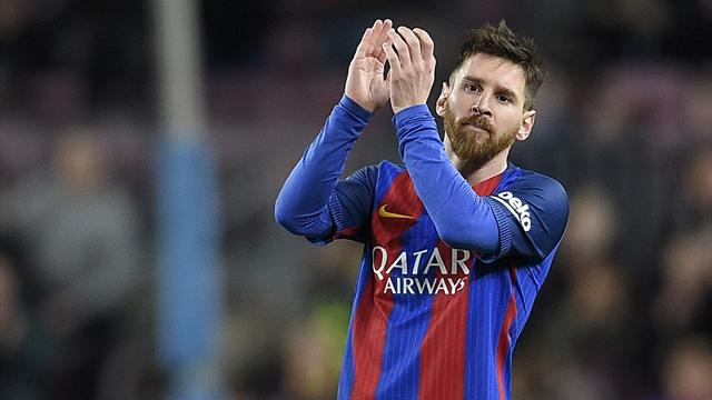«Барселона» обыграла «Валенсию» благодаря дублю Месси