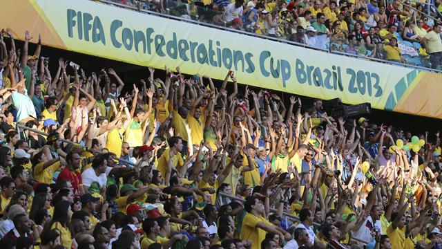 FIFA to provide tickets for obese fans at Confederations Cup