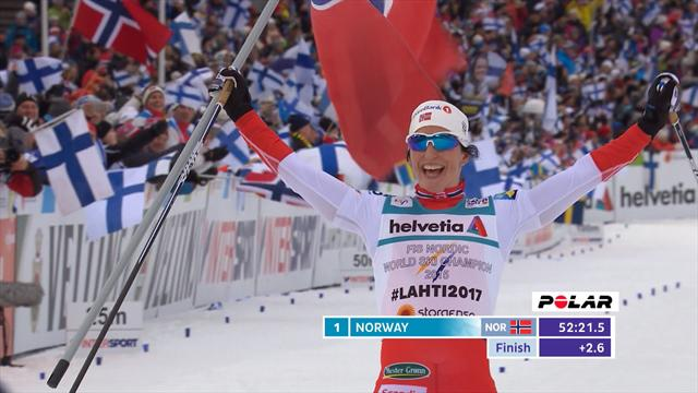 Norway secure historic 100th gold with Women's 4x5km relay triumph