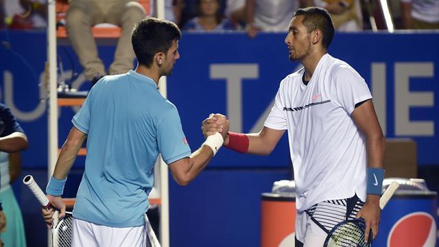 Кирьос второй раз подряд победил Джоковича и сыграет с Федерером