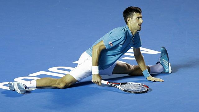 Djokovic şaşırtmaya devam ediyor