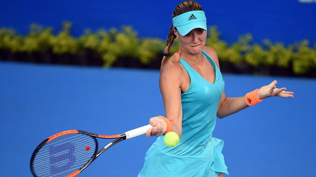 Kristina Mladenovic s'est qualifiée pour la finale à Acapulco
