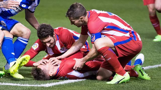 Atletico Madrid,rottura parziale crociato e stop 1 mese Vrsaljko