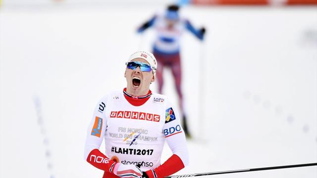 Krogh schlägt Ustjugow: Norwegen holt Staffel-Gold - Platz sechs für Deutschland