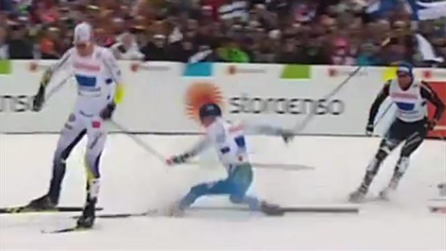 Brisantes Staffel-Finish: Finnland im Sturz-Pech, Norwegen baut Serie aus