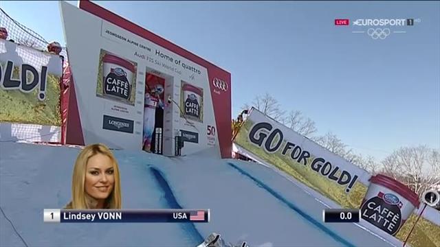 Sofia Goggia vince la sua prima gara di Coppa del Mondo