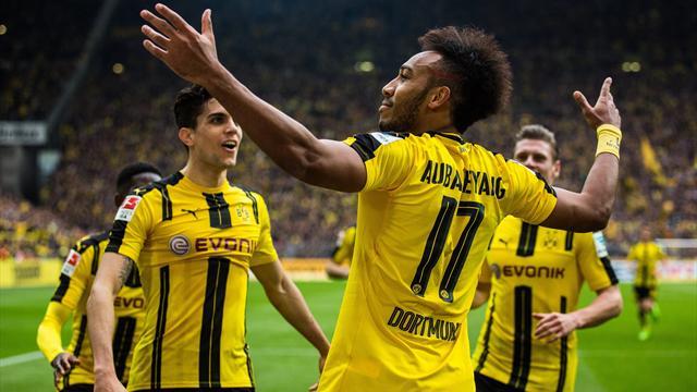 Aubameyang offre la victoire à Dortmund contre Ingolstadt