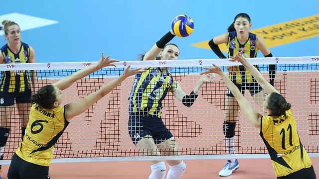 Zirve düellosunda zafer Fenerbahçe'nin
